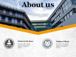 About Us Ppt Visual Aids Background Images