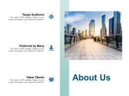About Us Preferred By Many F442 Ppt Powerpoint Presentation Outline Format Ideas