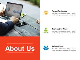 About Us Preferred By Many F446 Ppt Powerpoint Presentation Outline Graphic Images