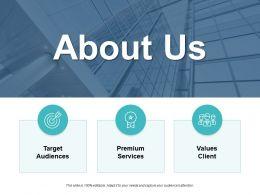 About Us Premium Services B11 Ppt Powerpoint Presentation Diagram Ppt