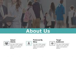 About Us Presentation Layouts