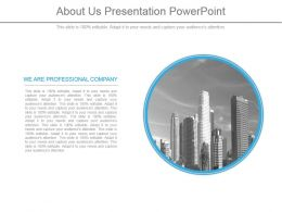 About Us Presentation Powerpoint
