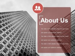 About Us Presentation Powerpoint Templates