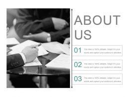 About Us Presentation Slides
