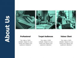 About Us Professional A494 Ppt Powerpoint Presentation File Influencers