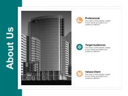 About Us Professional A555 Ppt Powerpoint Presentation Styles Visuals
