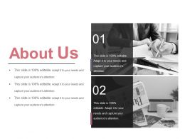 About Us Sample Ppt Background Images