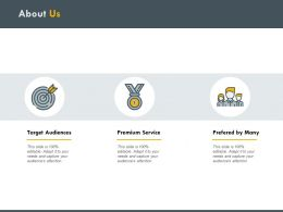 About Us Service H184 Ppt Powerpoint Presentation Professional Topics