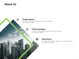 About Us Target Audience J78 Ppt Powerpoint Presentation Icon Picture