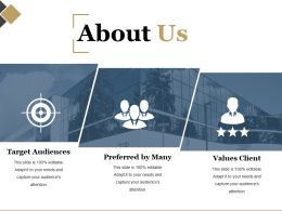 About Us Template Powerpoint Presentation Examples