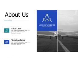 About Us Value Client J147 Ppt Powerpoint Presentation Diagram Ppt
