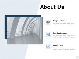 About Us Values Client A128 Ppt Powerpoint Presentation Icon Deck