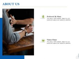 About Us Values Client C999 Ppt Powerpoint Presentation Ideas Example