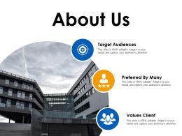 About Us Values Client Ppt Layouts Designs Download