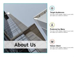 About Us Values Client Ppt Powerpoint Presentation Pictures Professional