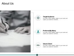 About Us Values Client Ppt Powerpoint Presentation Summary Objects