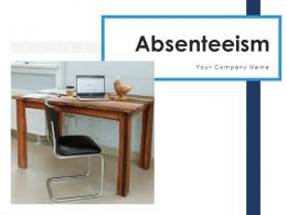 Absenteeism Workforce Productivity Manufacturing Representing Department Effectiveness