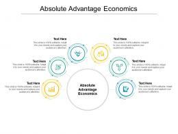 Absolute Advantage Economics Ppt Powerpoint Presentation Icon Display Cpb