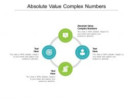 Absolute Value Complex Numbers Ppt Powerpoint Presentation Professional Show Cpb
