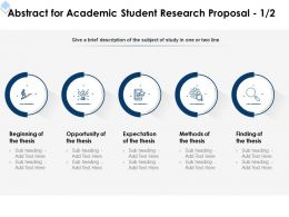Abstract For Academic Student Research Proposal L1715 Ppt Powerpoint Inspiration