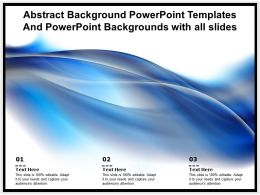 Abstract Powerpoint Templates Backgrounds With All Slides Ppt Powerpoint