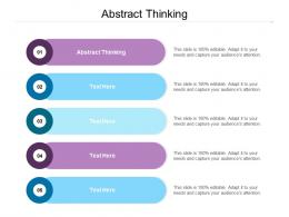 Abstract Thinking Ppt Powerpoint Presentation Styles Design Inspiration Cpb