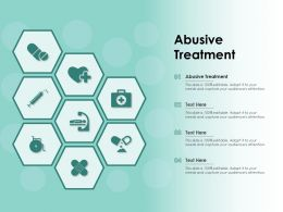 Abusive Treatment Ppt Powerpoint Presentation Gallery Design Templates