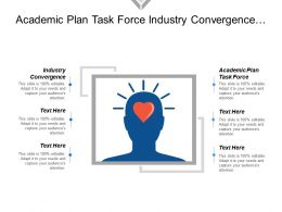 Academic Plan Task Force Industry Convergence Internet Access
