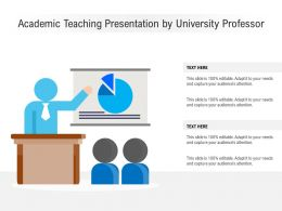 Academic Teaching Presentation By University Professor
