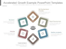 Accelerated Growth Example Powerpoint Templates