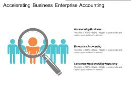 Accelerating Business Enterprise Accounting Corporate Responsibility Reporting Process Leadership Cpb