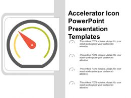 Accelerator Icon Powerpoint Presentation Templates