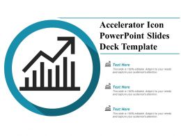 Accelerator Icon Powerpoint Slides Deck Template