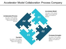 Accelerator Model Collaboration Process Company Strengths Competitive Pricing Strategies Cpb
