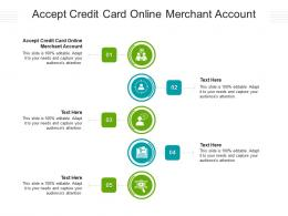 Accept Credit Card Online Merchant Account Ppt Powerpoint Presentation Outline Gridlines Cpb