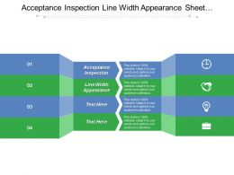 Acceptance Inspection Line Width Appearance Sheet Resistance Measurement Tool