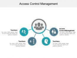 Access Control Management Ppt Powerpoint Presentation Ideas Layout Ideas Cpb