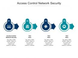 Access Control Network Security Ppt Powerpoint Presentation Ideas Slide Download Cpb