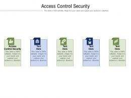 Access Control Security Ppt Powerpoint Presentation Inspiration Vector Cpb