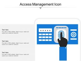 Access Management Icon