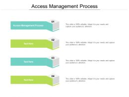 Access Management Process Ppt Powerpoint Presentation Layouts Cpb