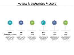 Access Management Process Ppt Powerpoint Presentation Visual Aids Deck Cpb