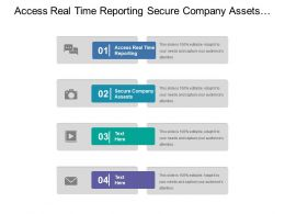Access Real Time Reporting Secure Company Assets Onboard Manage