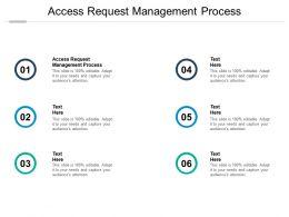 Access Request Management Process Ppt Powerpoint Presentation Slides Maker Cpb