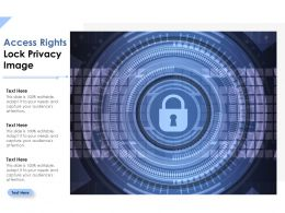 Access Rights Lock Privacy Image