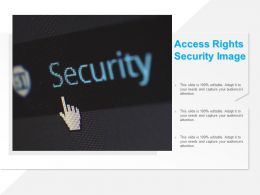 Access Rights Security Image