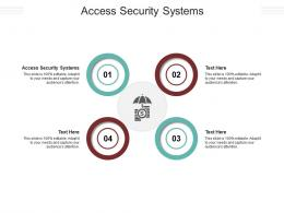 Access Security Systems Ppt Powerpoint Presentation File Designs Download Cpb