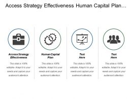 Access Strategy Effectiveness Human Capital Plan Leadership Potential