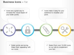 Access To Information Security Supplies Tools Ppt Icons Graphics