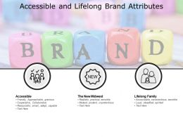 Accessible And Lifelong Brand Attributes